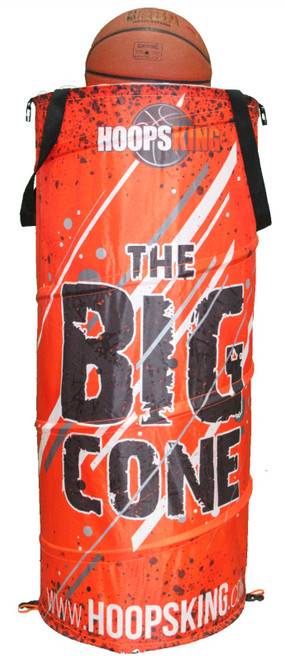 Big cone basketball training cone hoopsking