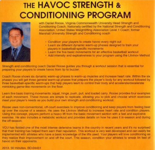 (Rental)-Havoc Strength & Conditioning Program