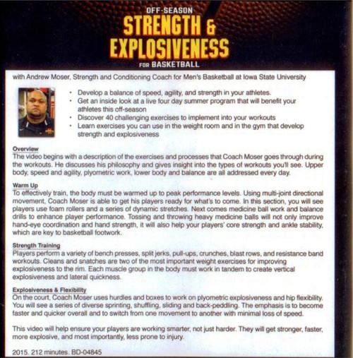 (Rental)-Off-season Strength & Explosiveness