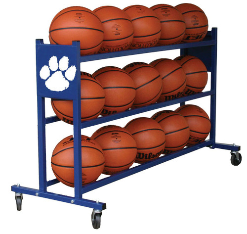 Custom Basketball Ball Rack