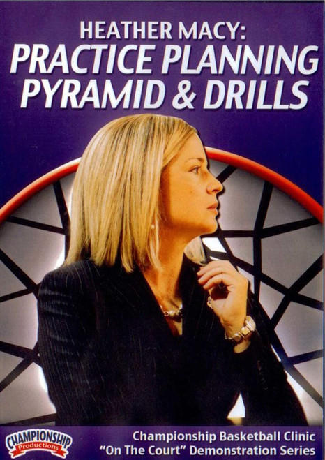 Practice Planning Pyramid & Drills by Heather Macy Instructional Basketball Coaching Video