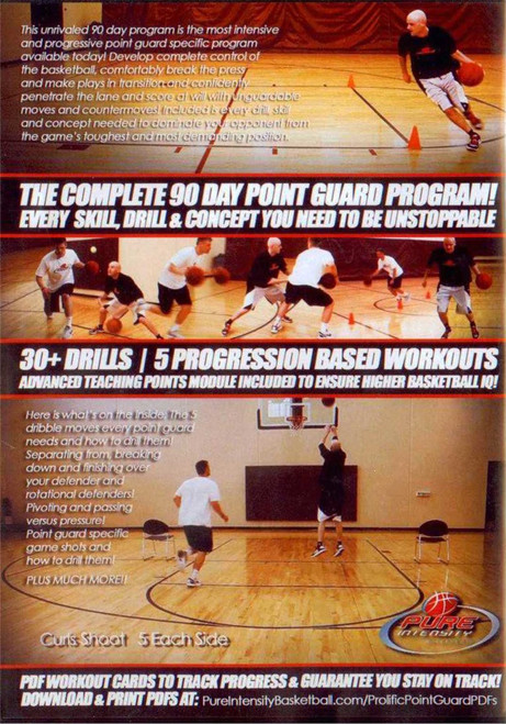 (Rental)-Prolific Point Guard Workout