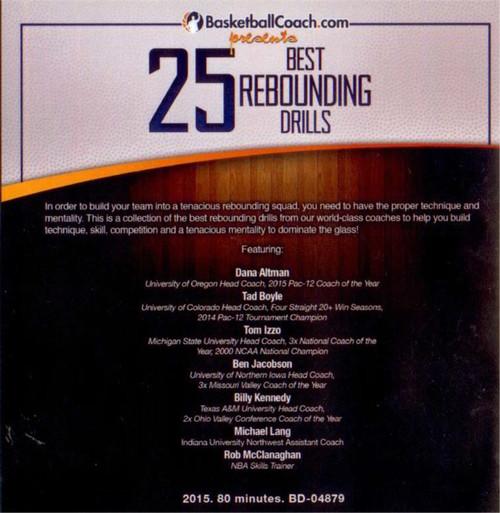 (Rental)-25 Best Rebounding Drills
