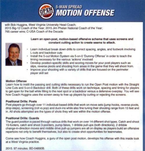 (Rental)-5 Man Spread Motion Offense