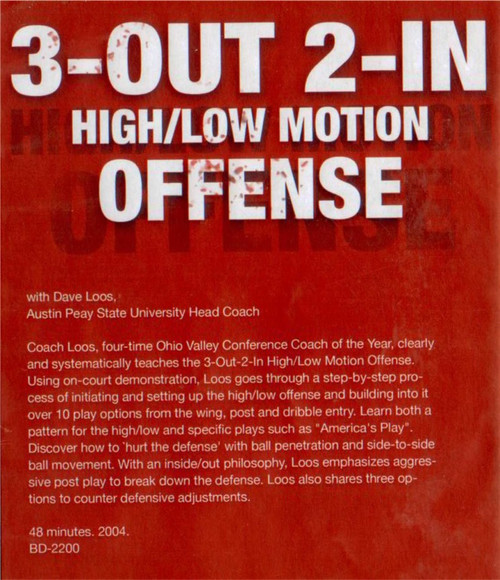 (Rental)-3 Out 2 In High Low Motion Offense