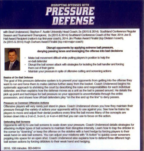 (Rental)-Disrupting Offenses With Pressure Defense