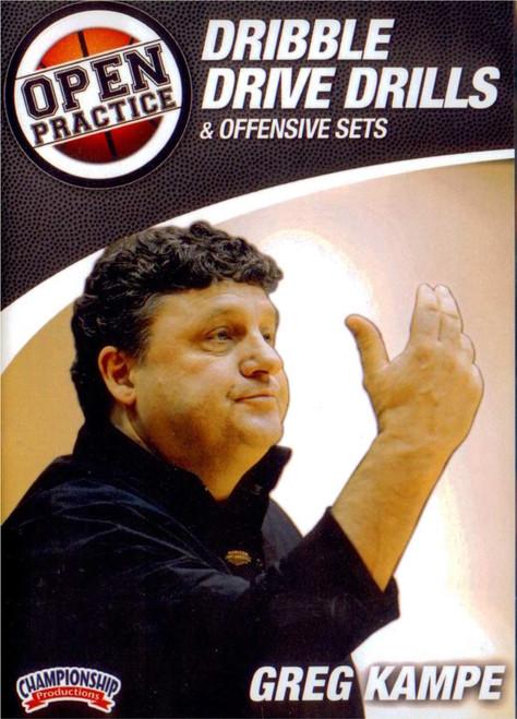 Dribble Drive Drills by Greg Kampe Instructional Basketball Coaching Video