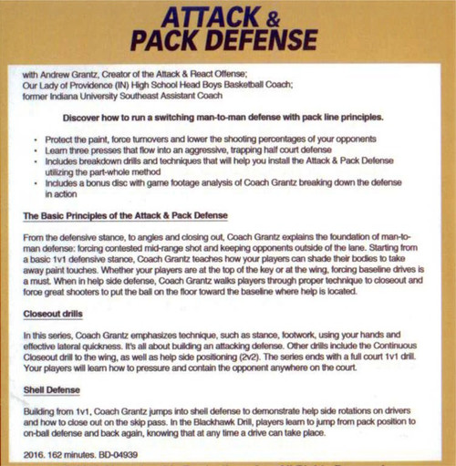 (Rental)-Attack And Pack Defense