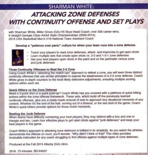 Attacking Zone Defense
