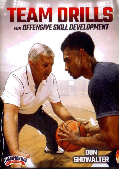 Team Drills For Offensive Skill Development by Don Showalter Instructional Basketball Coaching Video