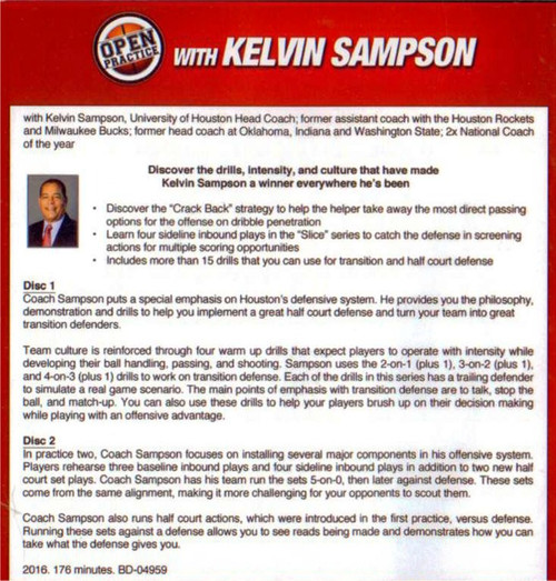 basketball practice plan template drills Kelvin Sampson
