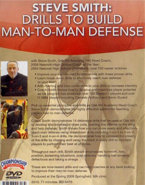 (Rental)-Drills To Build Man To Man Defense