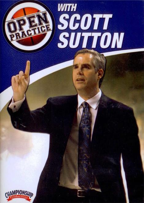 Open Practice With Scott Sutton by Scott Sutton Instructional Basketball Coaching Video