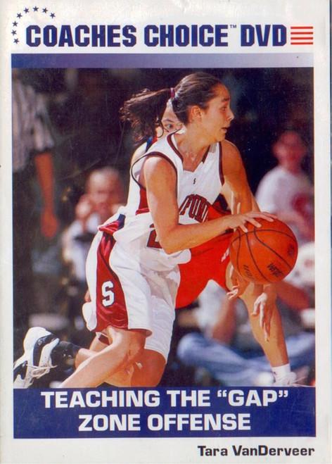Teaching The Gap Zone Offense by Tara VanDerVeer Instructional Basketball Coaching Video