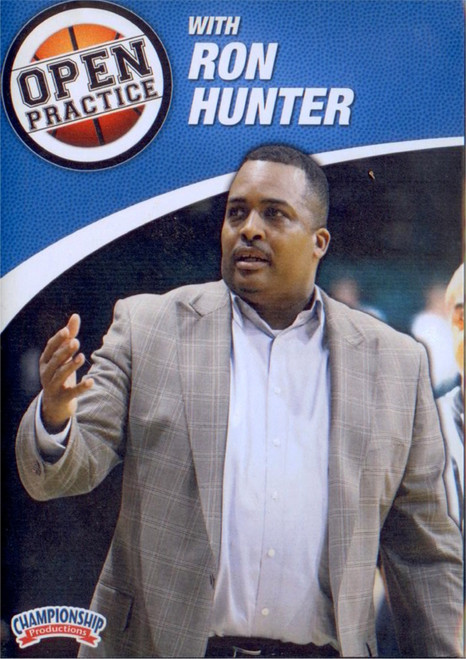 Open Practice With  Ron Hunter by Ron Hunter Instructional Basketball Coaching Video