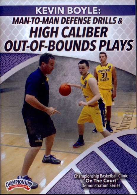 (Rental)-Man To Man Defensive Drills And Out Of Bounds Plays