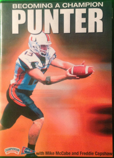 BECOMING A CHAMPION: THE PUNTER by Mike McCabe Instructional Basketball Coaching Video