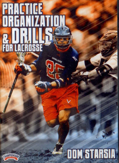 Practice Organization & Drills for Lacrosse by Dominic Starsia Instructional Basketball Coaching Video