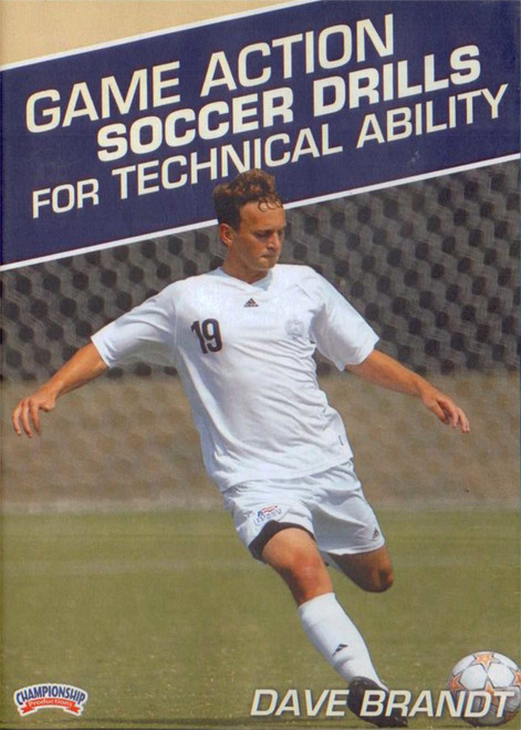 Game Action Soccer Drills for Technical Ability by Dave Brandt Instructional Soccerl Coaching Video
