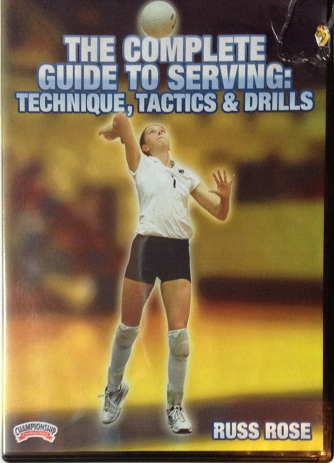 THE COMPLETE GUIDE TO SERVING: TECHNIQUE, TACTICS by Russ Rose Instructional Volleyball Coaching Video