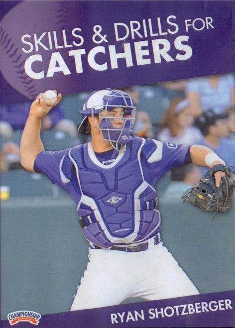 SKILLS AND DRILLS  FOR CATCHERS by Ryan Shotzberger Instructional Basketball Coaching Video