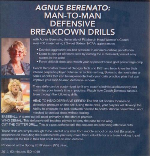 (Rental)-Man To Man Defensive Breakdown Drills