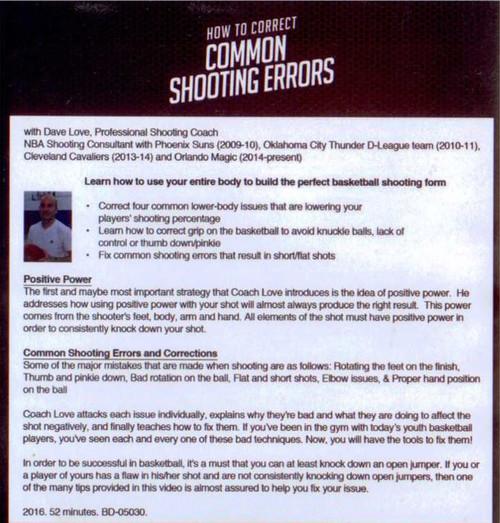 (Rental)-How To Correct Common Shooting Errors