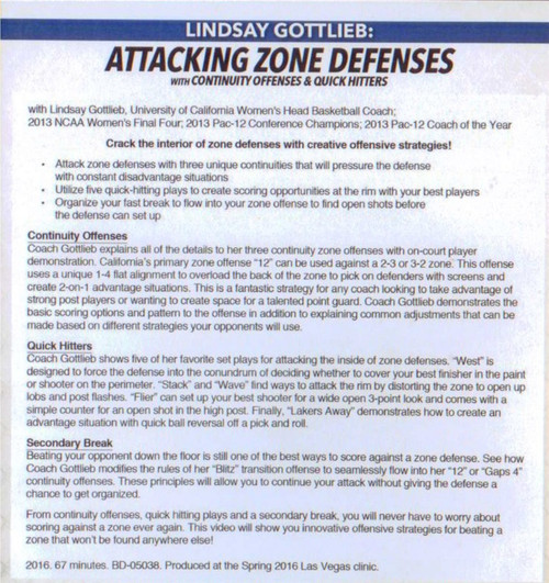 Continuity Offense vs Zone Defense 2-3 3-2