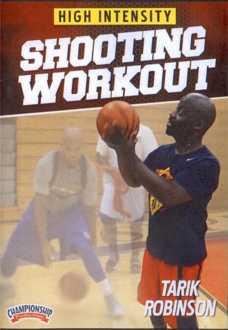 High Intensity Shooting Workout by Tarik Robinson Instructional Basketball Coaching Video