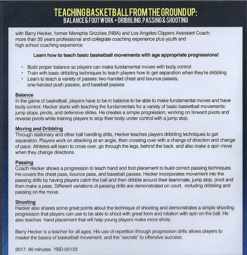 (Rental)-Teaching Basketball From The Ground Up