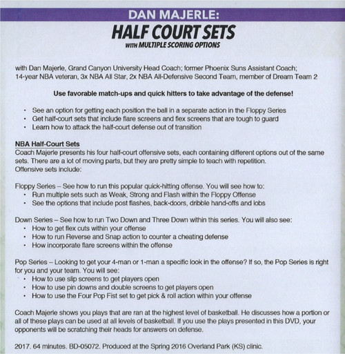 (Rental)-Half Court Sets With Multiple Scoring Options