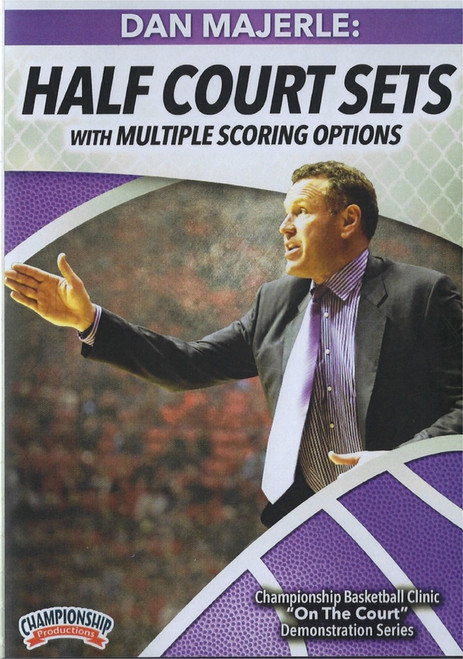 Half Court Sets With Multiple Scoring Options by Dan Majerle Instructional Basketball Coaching Video