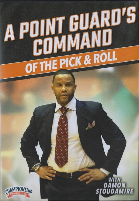 Point Guard's Command Of The Pick & Roll by Damon Stoudamire Instructional Basketball Coaching Video
