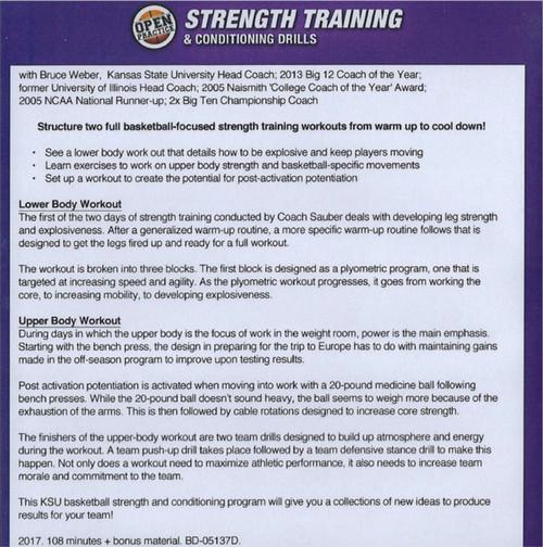 (Rental)-Strength Training & Conditioning Drills