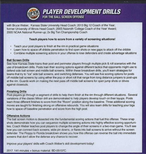 ball screen offense drills