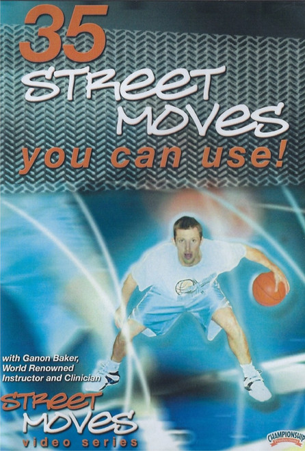 35 Street Moves You Can Use by Ganon Baker Instructional Basketball Coaching Video