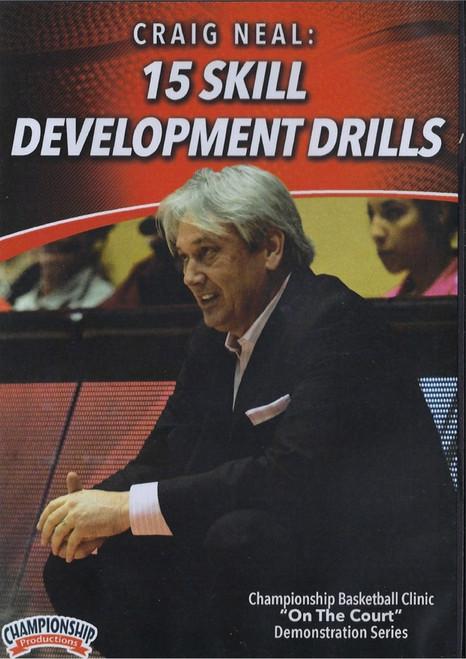 15 Skill Development Drills by Craig Neal Instructional Basketball Coaching Video