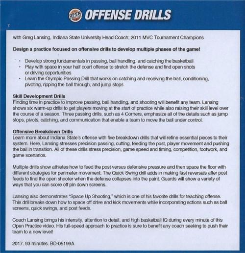 (Rental)-Offense Drills