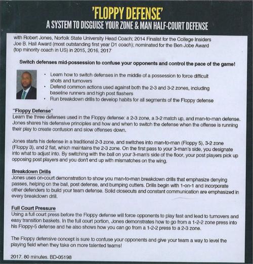 Floppy Defense Basketball