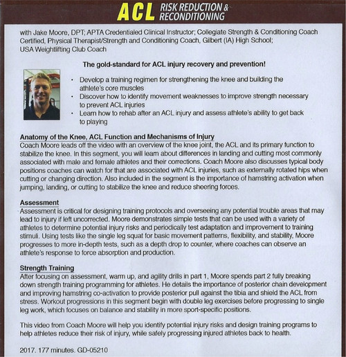 (Rental)-Acl Risk Reduction & Reconditioning