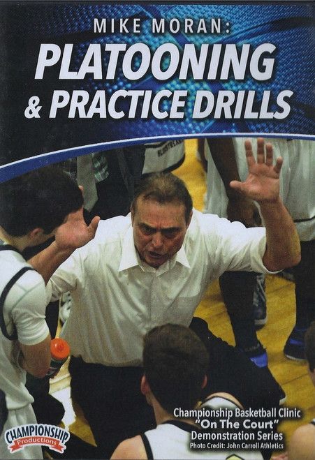 Platooning & Practice Drills by Mike Moran Instructional Basketball Coaching Video