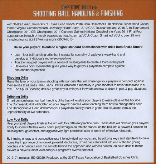 (Rental)-Competitive Drills For Shooting, Ball Handling, & Finishing
