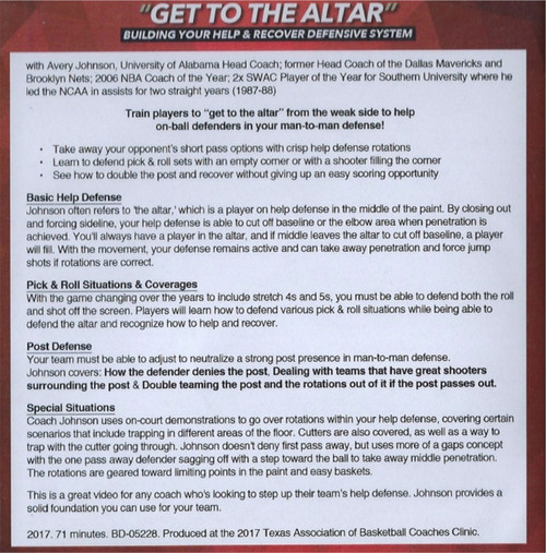 (Rental)-Get To The Altar Building Your Help & Recover Defensive System