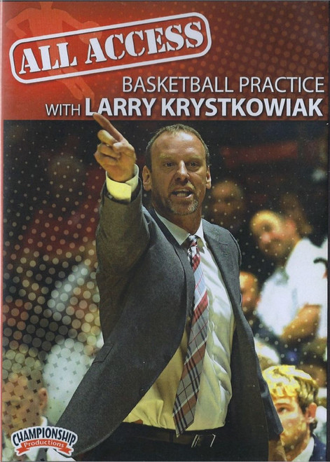 All Access Basketball Practice With Larry Krystkowiak by Larry Krystkowiak Instructional Basketball Coaching Video