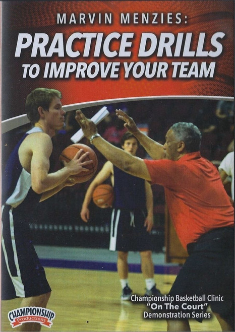 Practice Drills To Improve Your Team by Marvin Menzies Instructional Basketball Coaching Video