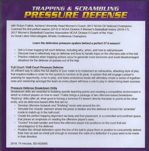 (Rental)-Trapping & Scrambling Pressure Defense