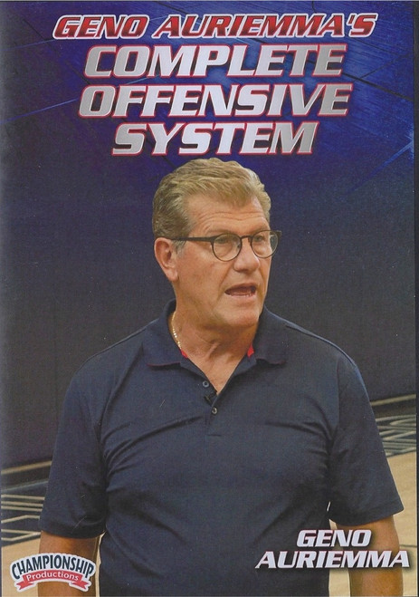 Geno Auriemma's Complete Offensive System by Geno Auriemma Instructional Basketball Coaching Video