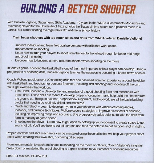 building a better shooter in basketball