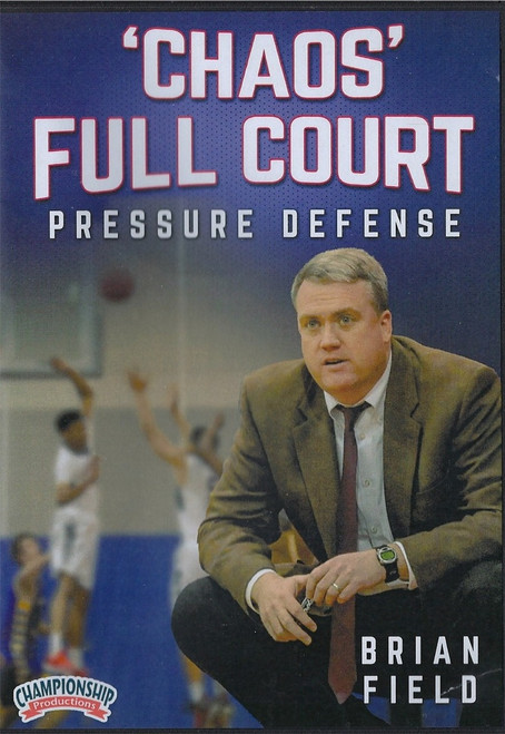 Chaos Full Court Pressure Defense by Brian Field Instructional Basketball Coaching Video