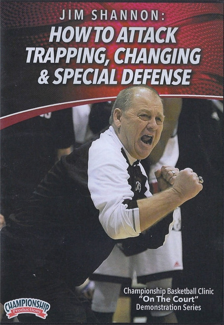 How to Attack Trapping, Changing, & Special Defense by Jim Shannon Instructional Basketball Coaching Video